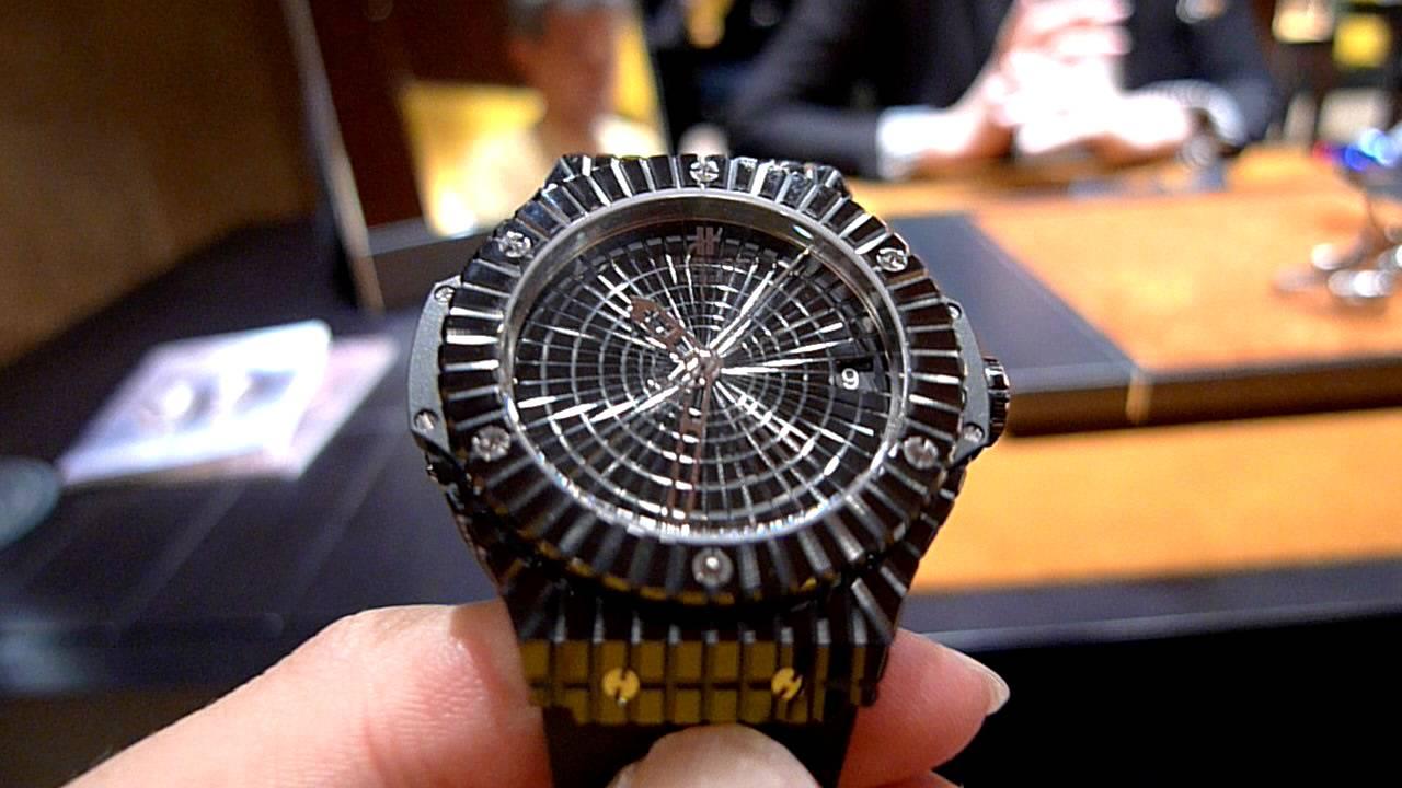 Hublot Big Bang Black Caviar - bling on a budget
