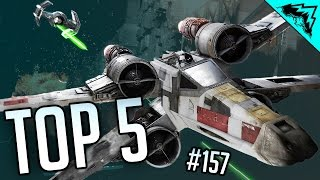 Star Wars Battlefront Death Star Top 5 Plays (Chewbacca, Bossk, & Red 5 vs Death Star) WBCW #157