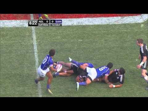 USA Sevens 2012 Cup Final: New Zealand vs Samoa - 1st half