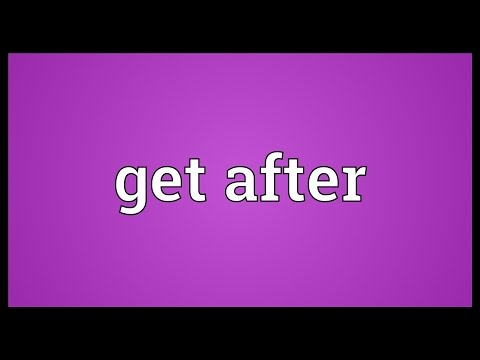 Header of Get After