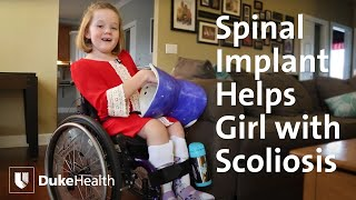 Spinal Implant Helps Girl With Early-Onset Scoliosis