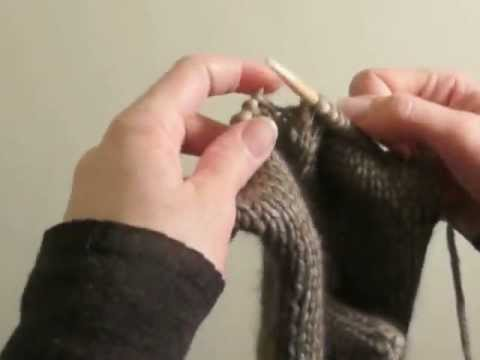 comment tricoter des moufles adultes