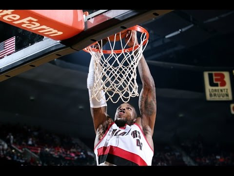 Thomas Robinson Steals and Throws Down the One-Handed Oop