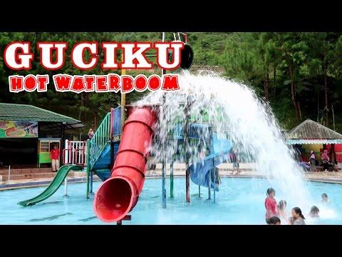 Asiknya Bermain Air di Guciku Hot Water Boom - Waterboom dengan Air Panas Alami