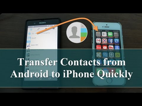 how to transfer contacts from gmail to icloud android to iphone travel the world and