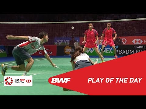 Play Of The Day | YONEX All England Open 2018 F | BWF 2018