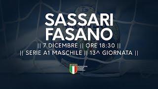 Serie A1M [13^]: Sassari - Fasano 37-32