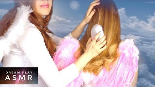 ★ASMR [no talking]★ Welcome to Cloud 7 🌤 Angel´s Hair Brushing | Dream Play ASMR