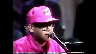 Elton John - Sad Songs (Say So Much) - MTV Unplugged 1990 - HD