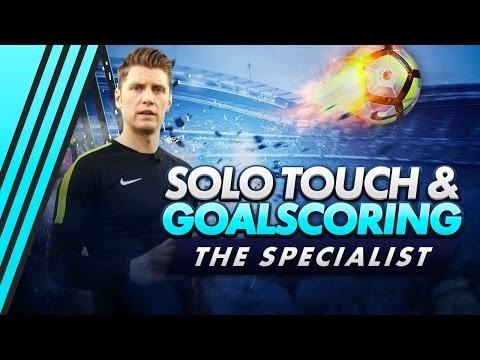 Solo Touch & Finish Goalscoring Drills | The Specialist