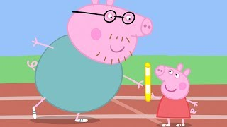 Peppa Pig Nederlands Compilatie Nieuwe Afleveringen 🏆 Sportdag | Tekenfilm | Peppa de Big