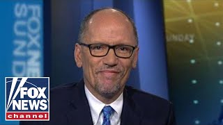 Tom Perez on the 2020 presidential field's shift to the far left