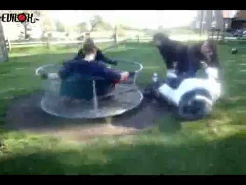 Roundabout Stunt FAIL!!!