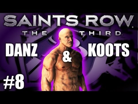 Saints Row The Third Pt8 UNDER THE MAP! w/ Danz & Kootra
