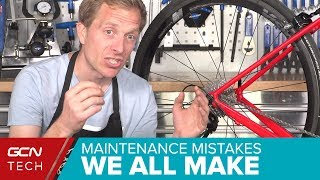 5 Maintenance Mistakes Even Experienced Cyclists Make