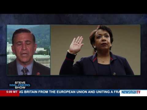 Malzberg | Rep. Darrell Issa: AG Loretta Lynch Should Resign