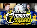 INSANE TOTS 99 PACE AUBAMEYANG 7 MINUTE SQUAD BUILDER FIFA 16 ULTIMATE TEAM mp3
