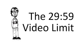 Why do DSLRS only Record Video for 29:59?