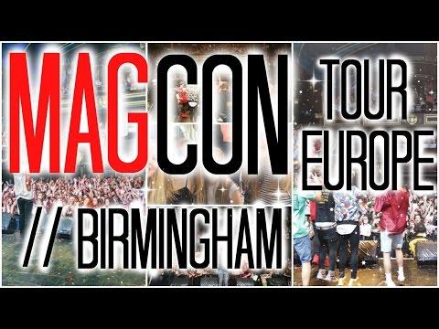 MAGCON Birmingham in 10 minutes 2K16    Cameron Dallas, Aaron Carpenter, Hunter Rowland