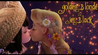 Hotel Transylvania - {WARNING FEMSLASH} Golden Blond and Jet Black