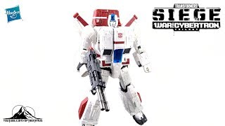 Transformers Siege Commander Class JETFIRE Video Review