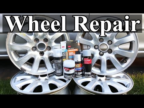 How to Repair Wheels with Curb Rash and Scratches thumbnail