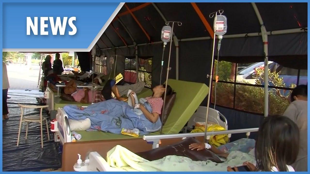 Indonesia Tsunami: Sulawesi hospitals at full capacity