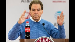 Nick Saban discusses getting ready for LSU