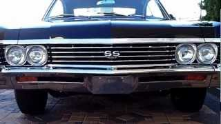 1967 Chevrolet impala SS 427 At Celebrity Cars Las Vegas