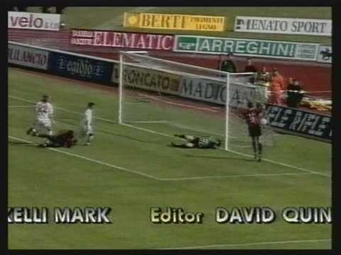 George Weah - Goals Monaco PSG & AC Milan
