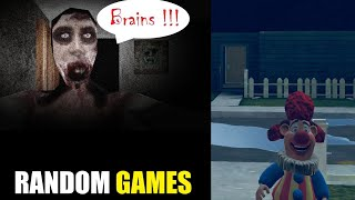 THIS GIRL IS SCARIER THAN GRANNY Free random (Horror Games!)