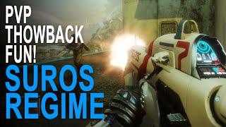 Suros Regime Exotic Auto Rifle Pvp Throwback Fun - Destiny 2