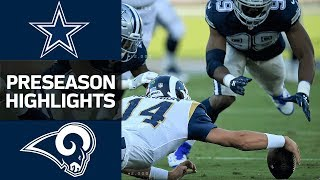 Cowboys vs. Rams | NFL Preseason Week 1 Game Highlights