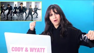 download musica CAMILA CABELLO REACTS TO K-POP