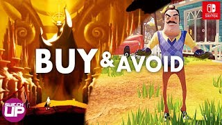 10 NEW Nintendo Switch ESHOP SALE Games APRIL 2019 - (BUY & AVOID GUIDE)