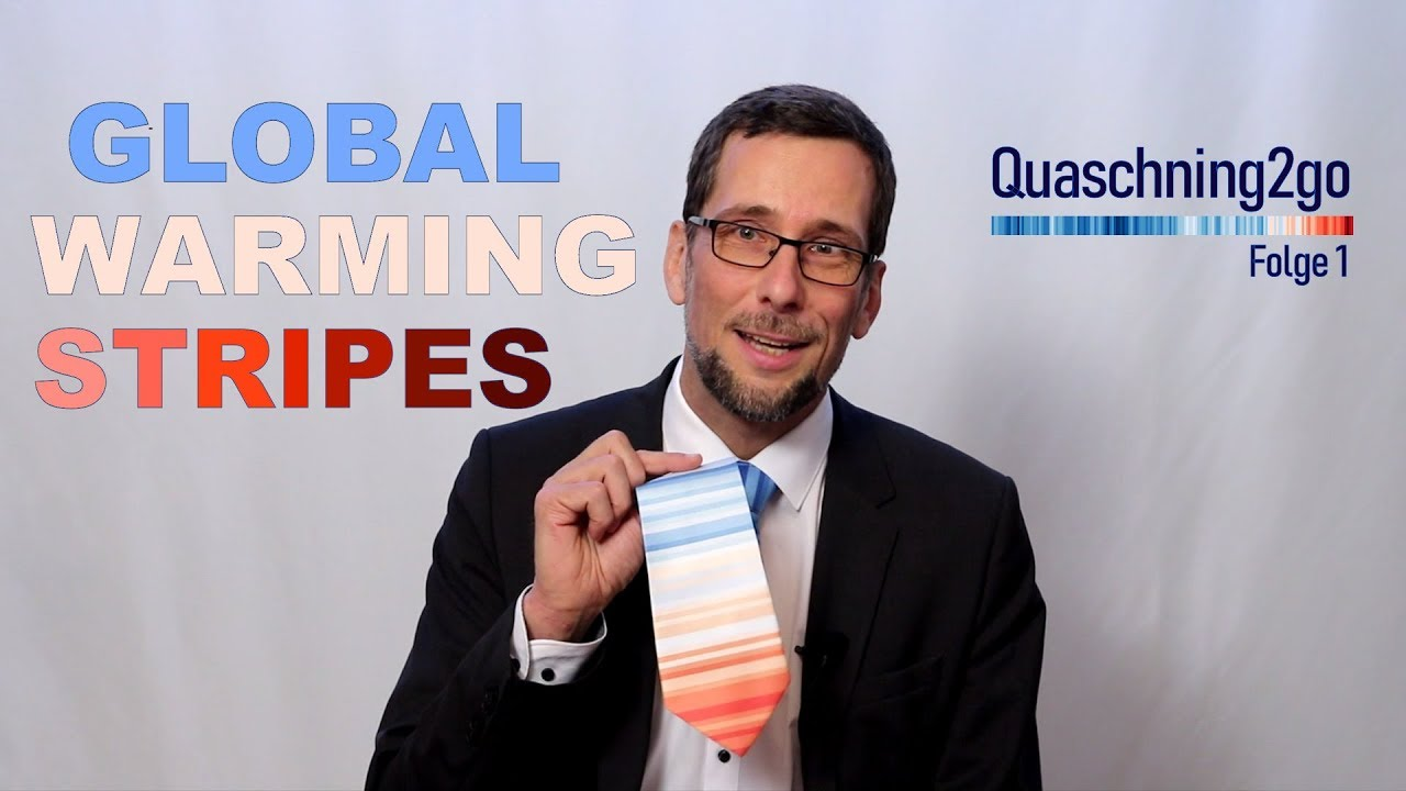 Video: Was sind Global Warming Stripes?