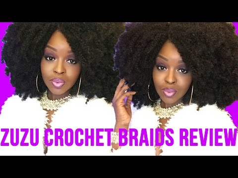 Zuzu Crochet Braids : Zuzu Crochet Braids Review BEST Kinky Natural 4a 4b 4c Hair ...