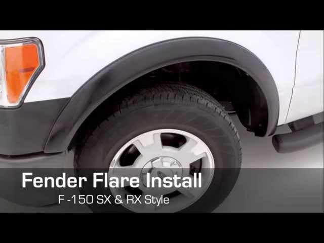 Lund   Fender Flare RX & SX Ford F-150 Installation - YouTube