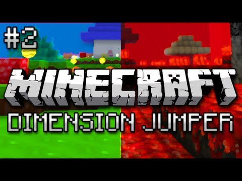 Minecraft: Dimension Jumper Part 2 - Interdimensional Parkour