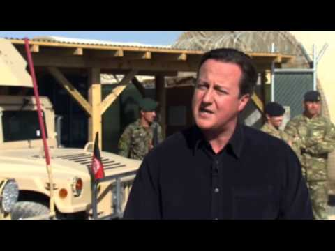 David Cameron- British troops' mission accomplished in Afghanistan