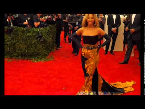 Beyonce Knowles Stunned In Givenchy Dress Arriving 2013 MET GALA