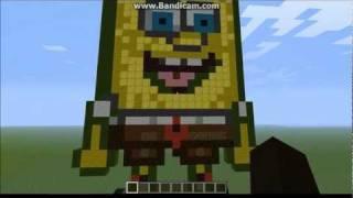 MineCraft - SpongeBob PixelArt