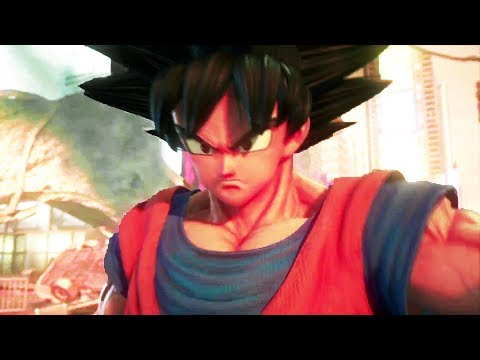 JUMP FORCE Trailer (Son Goku, Luffy, Naruto, Death Note, E3 2018)