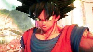 JUMP FORCE Trailer (Son Goku, Luffy, Naruto, Death Note, E3 2018)