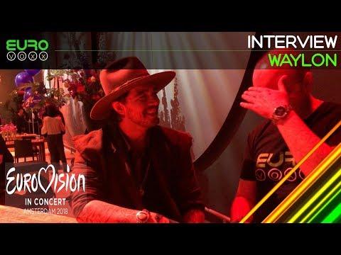 Waylon Interview (Netherlands Eurovision 2018) | Eurovision in Concert | Eurovoxx