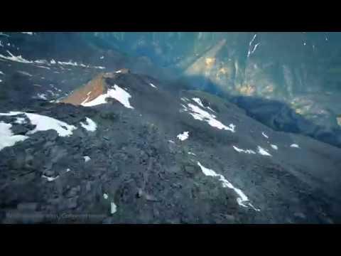 Surfing the Mountain -- Terrain Flying in Zermatt