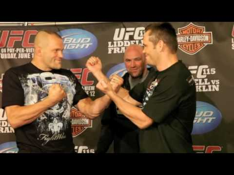 Dana White UFC 115 Video Blog - 6-10