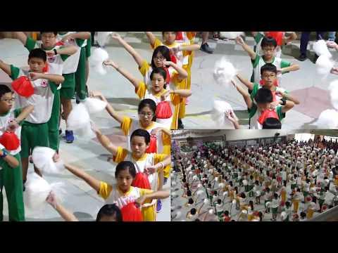 [建德20周年校慶]運動會表演節目 - 六年級大會舞