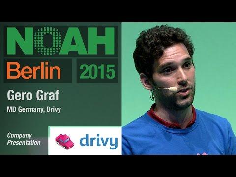 Gero Graf, Drivy - NOAH15 Berlin