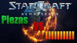 Starcraft Remastered : PIEZAS(PERÚ) vs IIIIII código de Barra